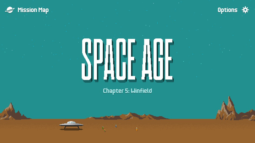 Space Age: A Cosmic Adventure, iOS i�in yay�nland�