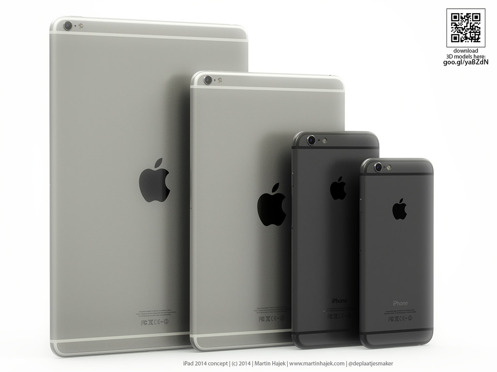 S�per ince ve ��k�nt�l� kameral� iPad Air 2 konsepti