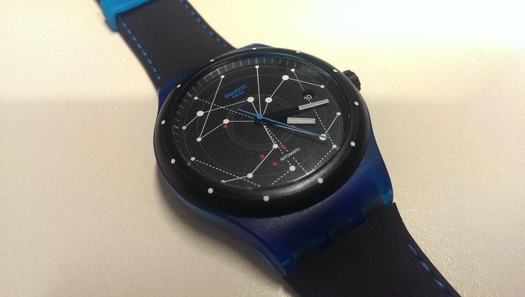 Swatch Sistem 51 - Sistem Blue saat