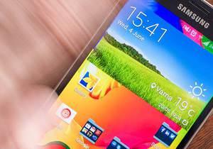 Galaxy S5'in ekran kilidini dokunmadan açmak