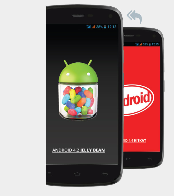 General Mobile Discovery'de Jelly Bean'e geri d�nmek