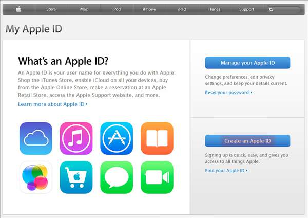 Kredi kart� olmadan Apple ID olu�turmak