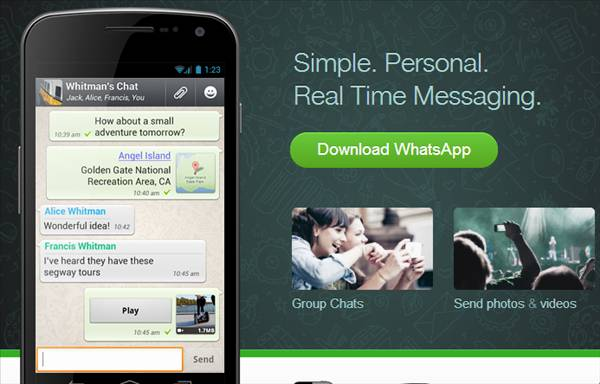 SIM kart olmadan WhatsApp kullanmak