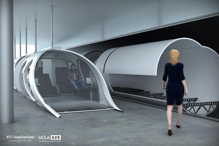 1126 km h�zla ula��m projesi Hyperloop nas�l g�z�kecek?