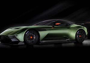 Aston Martin Vulcan kendisini g�sterdi!