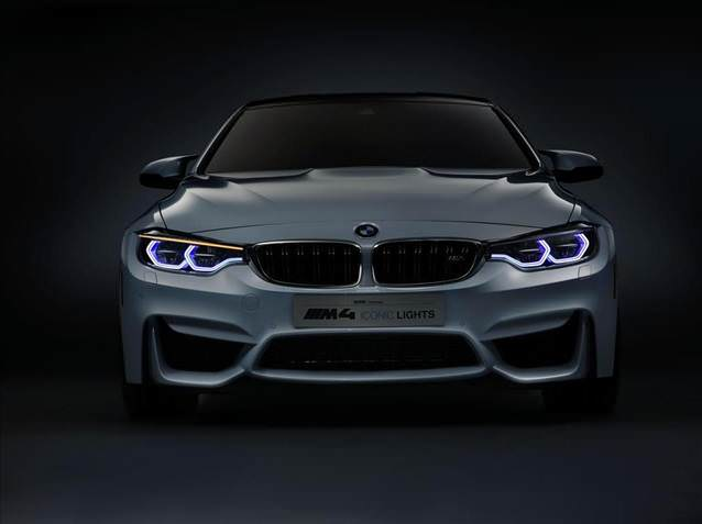 BMW M4 Concept Iconic Lights yollar� ayd�nlatacak