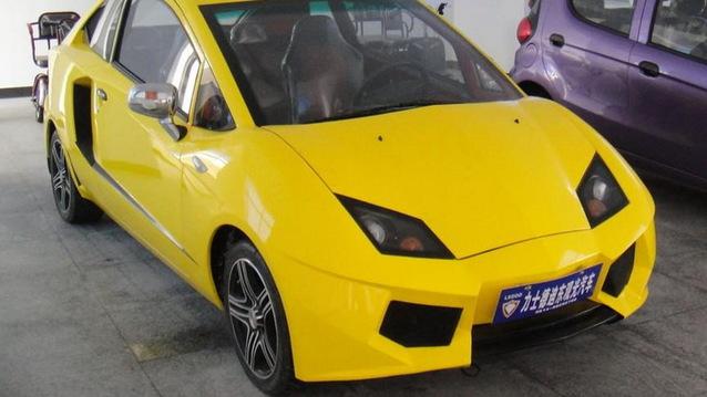 Bu da �in mal� Lamborghini