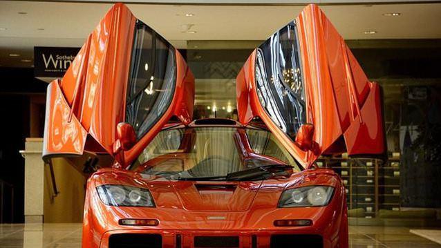 Bu McLaren 12 milyon dolara sat��a ��kacak