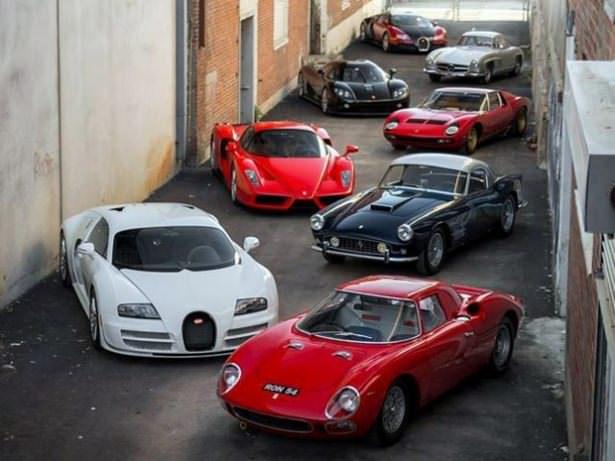 Dünyan�n en pahal� araba koleksiyonu
