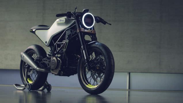 Ge�mi�le gelece�i bulu�turan motosiklet konsepti