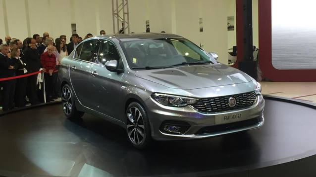Fiat'�n yeni kompakt sedan� Aegea da fuarda