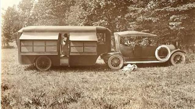 Ge�mi�ten g�n�m�ze karavanlar