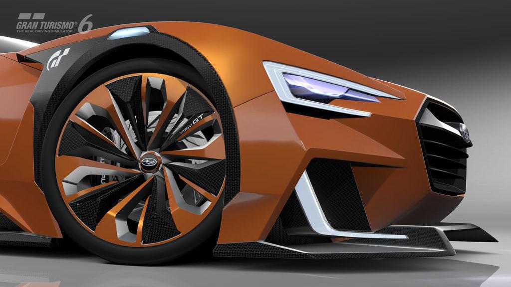 Gran Turismo 6'ya �zel Subaru: VIZIV GT Vision
