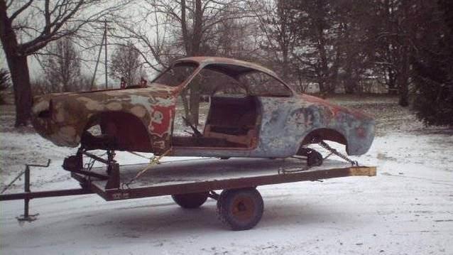 Hurdadan ald��� otomobili bak�n ne hale getirdi