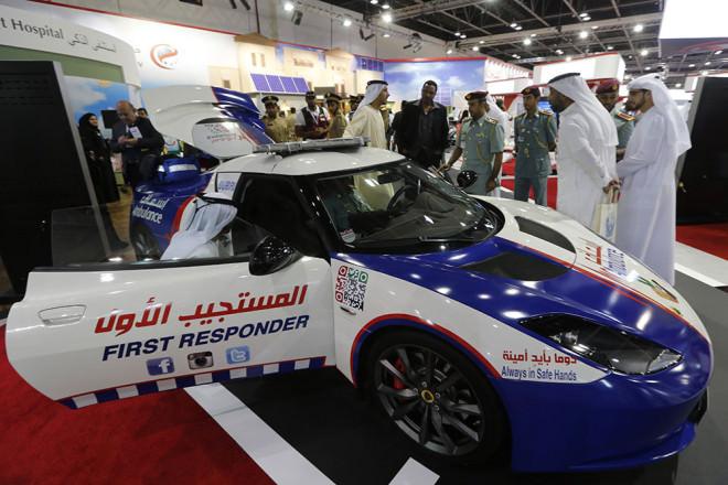 ��te bu da Dubai'nin saatte 300 km h�z yapabilen ambulans�