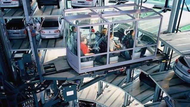 ��te Volkswagen�in otomobil kulesi