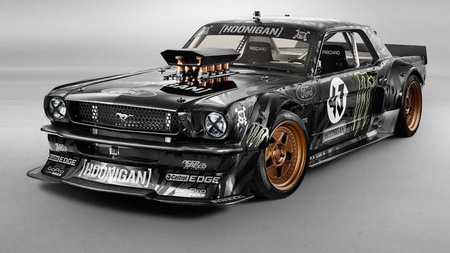 Ken Block�un yeni g�zdesi: 845 HP�lik Mustang