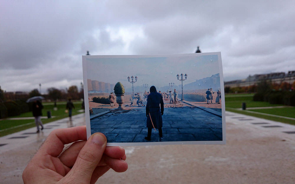 Assassin's Creed Paris'i ger�ek Paris i�inde