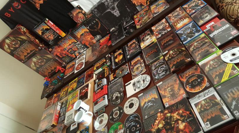 D�nyan�n en b�y�k Doom koleksiyonu bir T�rk'e ait