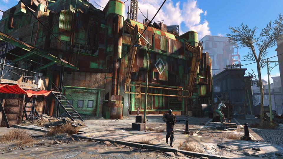 Fallout 4'�n ilk ekran g�r�nt�leri