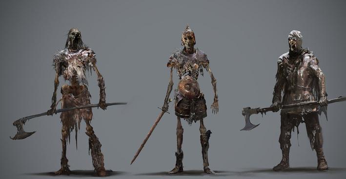 Game of Thrones'un 4. sezonunun konsept tasar�mlar�