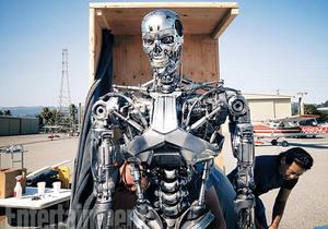 Terminator Genisys'ten yeni foto�raflar ve bilgiler