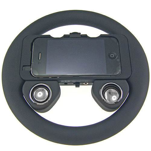 iPhone 4 i�in harici direksiyon simidi