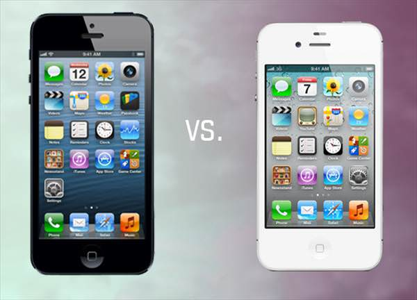 iPhone 4S ve iPhone 5 kar��la�t�rmas�