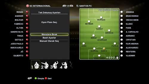 PES 2013 Demo - Oyun içi görüntüler
