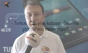 �lker Kuru�z ile Turkcell T50, T-Fit ve mobil teknolojiler �zerine