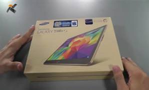 Samsung Galaxy Tab S kutu a��l�� (unboxing)
