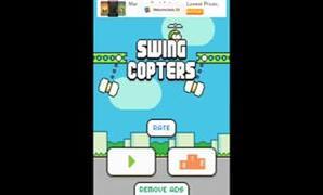Flappy Bird'�n yap�mc�s�ndan yeni oyun: Swing Copters