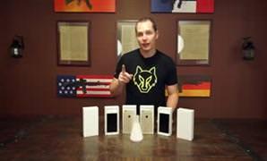 iPhone 6 Plus'�n s�v� nitrojen ile imtihan�