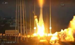 NASA roketi havada b�yle infilak etti