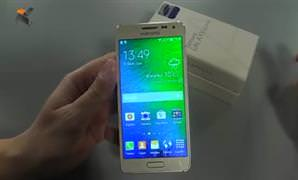 Samsung Galaxy Alpha - Video �nceleme