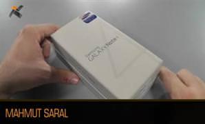 Samsung Galaxy Note 4 kutu a��l�� videosu (Unboxing)