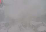 Drone ile kar f�rt�nas�n�n i�ine girdiler