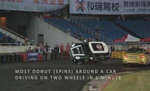 BMW M4, drift rekoru k�rd�