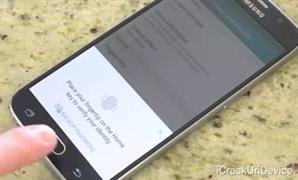 Galaxy S6'n�n �zerinden arabayla ge�tiler