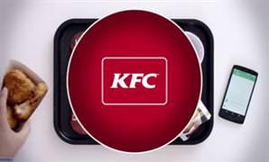 KFC'den yemek yerken kullanabilece�iniz klavye!