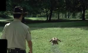 Walking Dead dizisinin arkas�ndaki �zel efektler