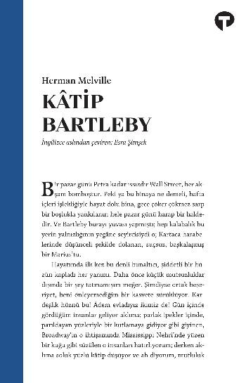 Kâtip Bartleby