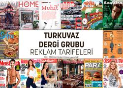 Turkuvaz Dergiler Reklam Tarifesi (Nisan 2014)