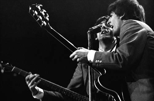 Beatles'ın ilk konseri'nin fotoğrafları!