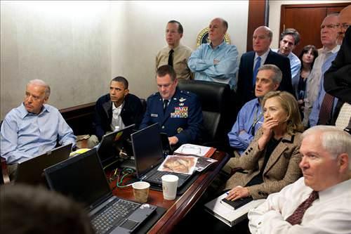Bin Ladin operasyonunu böyle seyrettiler