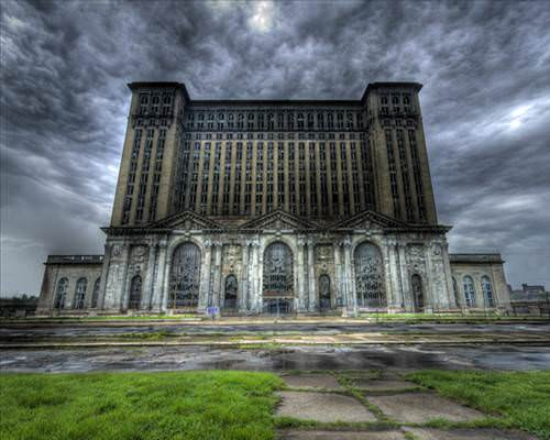 Hayalet kent Detroit!