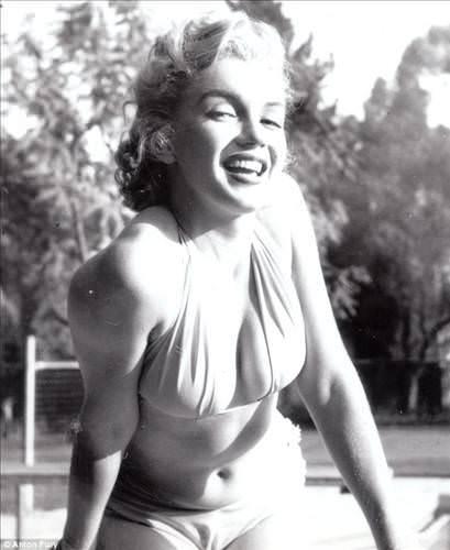 Marilyn Monroe'nun hiç yayınlanmamış fotoğrafları!