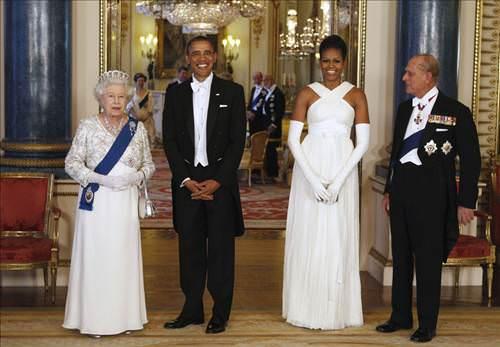 Obama'ların göz kamaştıran gecesi