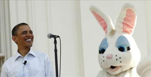 Paskalya, Beyaz Saray'da da kutlanır!
