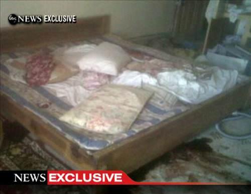 Usame Bin Ladin'in öldürüldüğü evden ilk görüntüler!